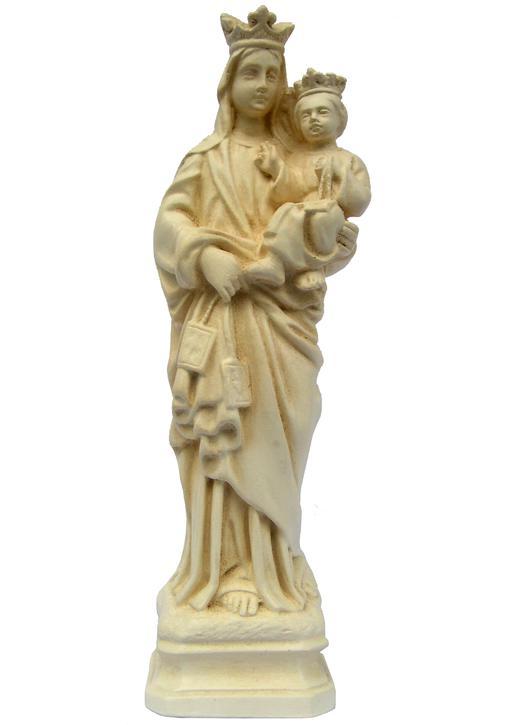 Statue de Notre-Dame du Mont-Carmel, 19,5 cm (Vue de face)