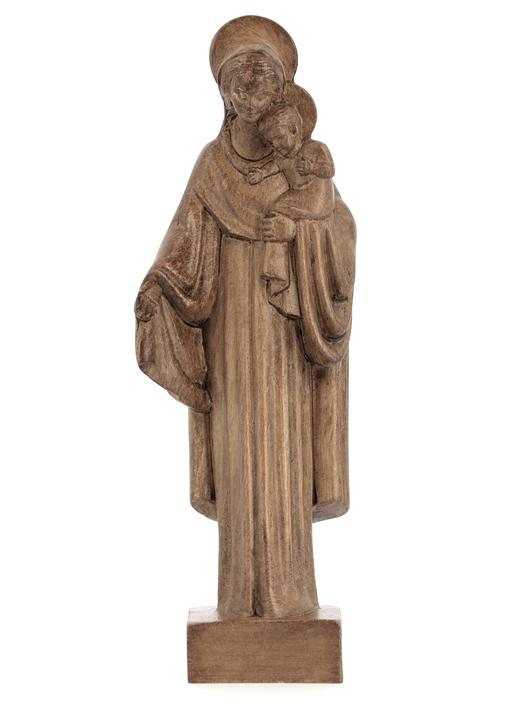 Statue de Notre-Dame du Foyer de Charité, 16 cm (Vue de face)
