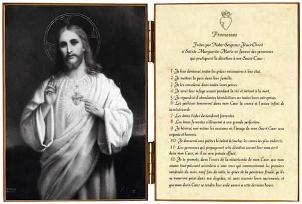 12 promesses du Sacré-Coeur de Jésus