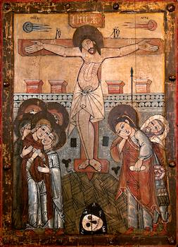 Icône de la crucifixion