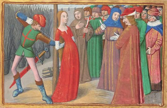 Jeanne d'Arc brûlée à Rouen