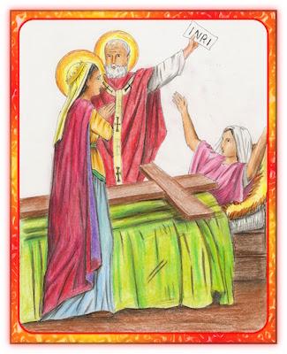 La vraie Croix identifiée par un miracle