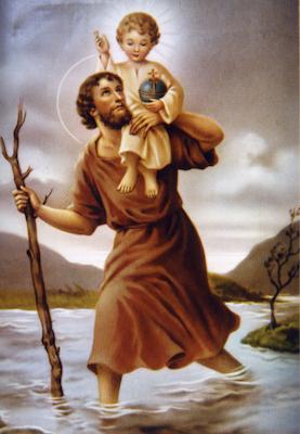 Saint Christophe, porte-Christ
