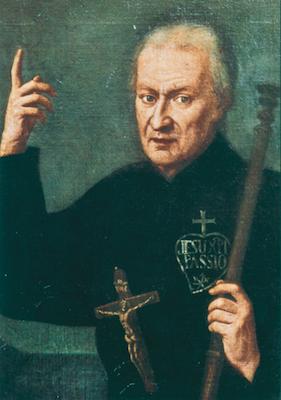 Saint Paul de la Croix, fondateur des Passionistes