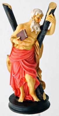 Statuette de Saint Andrés