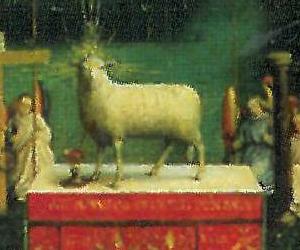 L'autel et l'Agneau mystique