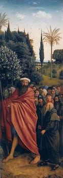 Le saint Christophe de l'Agneau mystique