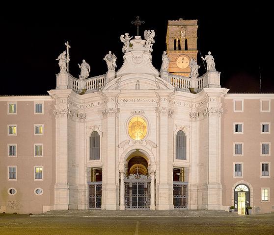 la basilique sainte Croix de Jérusalem à Rome