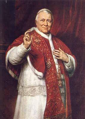 Le bienheureux Pape Pie IX