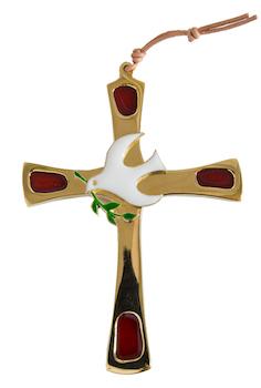 Croix colombe