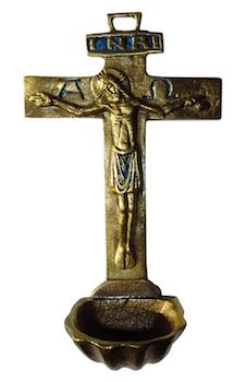 Crucifix bénitier