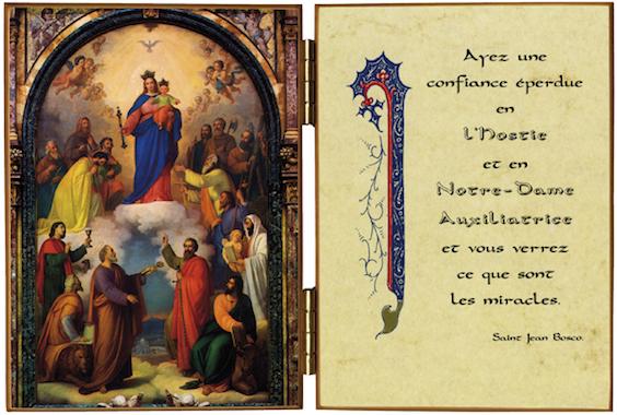 Tableau de Notre-Dame Auxiliatrice, Turin