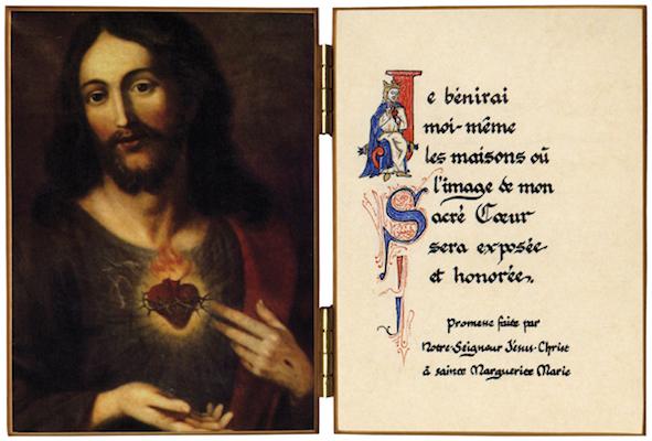 Diptyque du Sacré-Coeur