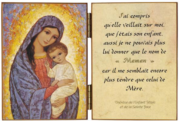 Citation sainte Thérèse de l'Enfant-Jésus