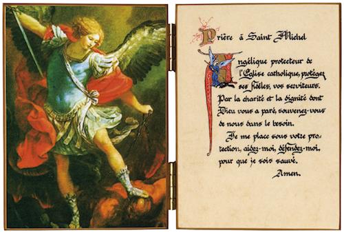 Diptyque de saint Michel Archange