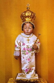 Statue de l'Enfant Jésus de Beaune