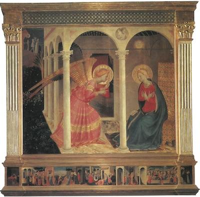 L'Annonciation de Fra Angelico