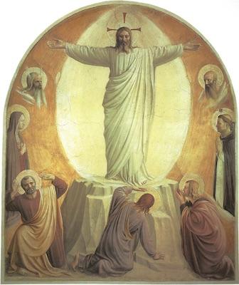 La Transfiguration par Fra Angelico
