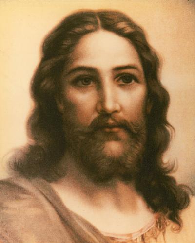 Visage de Jésus de Terre Sainte (Jackie Haas)