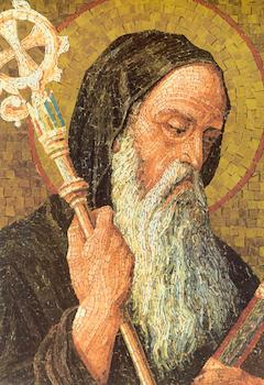 Icône de saint Benoît