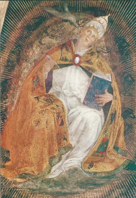 Icône de saint Grégoire le Grand