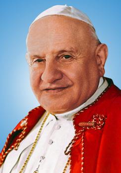 Le Pape saint Jean XXIII