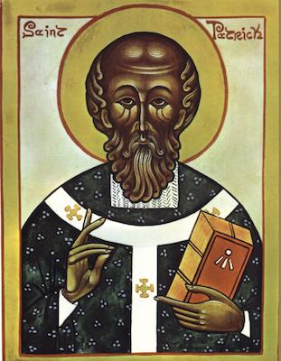 Icône de saint Patrick
