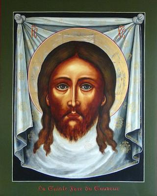 Icône de la sainte Face du Christ