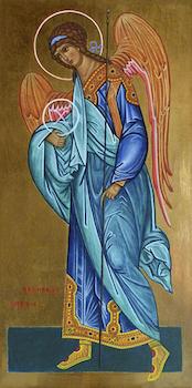 Icône du saint Archange Gabriel
