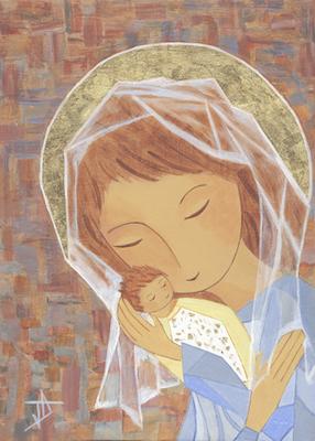 Icône de Marie, transparence de Dieu