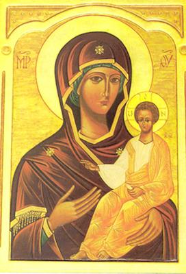 Icône de la Vierge du Chemin