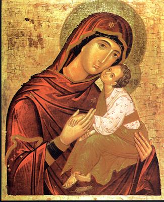 Icône de la Vierge de Tendresse