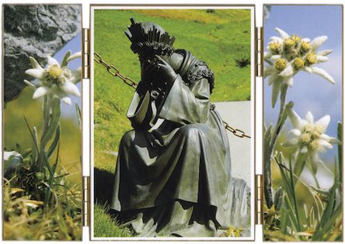 Statue de Notre-Dame de la Salette