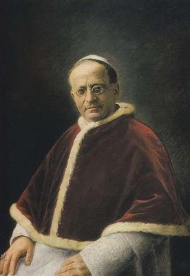 Le Pape Pie XI