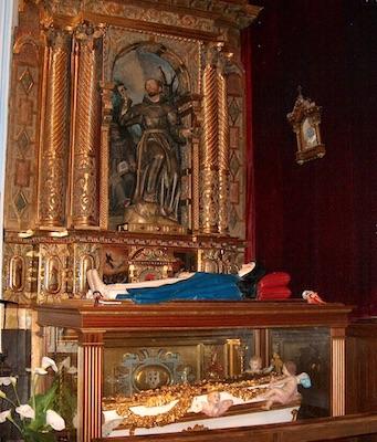 Corps de la vénérable Marie d'Agreda