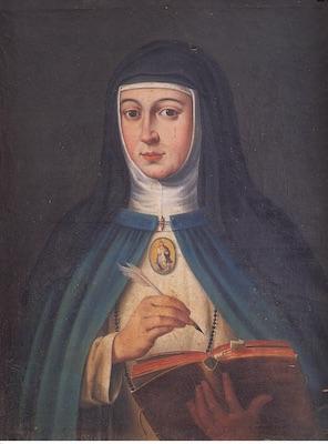 Portrait de Marie d'Agreda