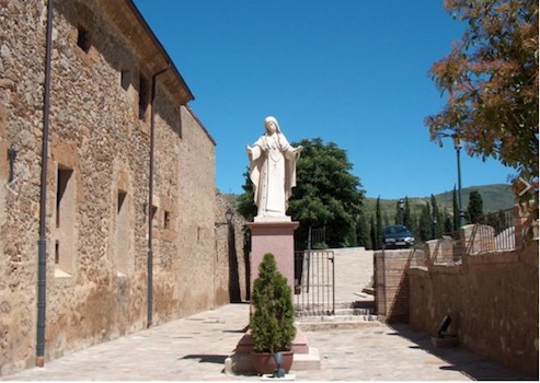 Statue de Marie d'Agreda