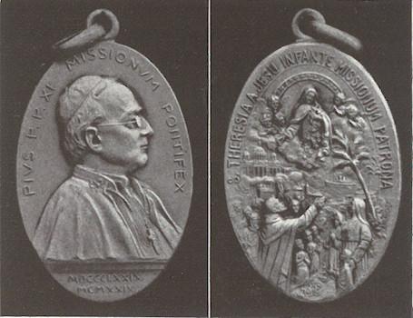 Médaille du pape des missions