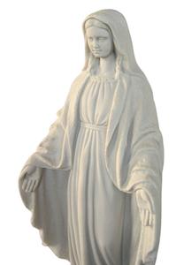 Statue de la Vierge de la médaille miraculeuse