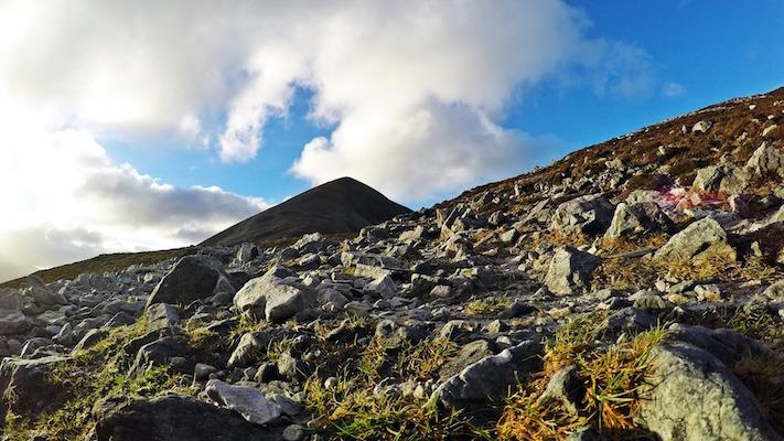 Montagne dans le nord de l'Irlande
