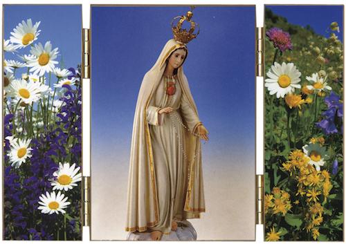 Triptyque Notre-Dame de Fatima