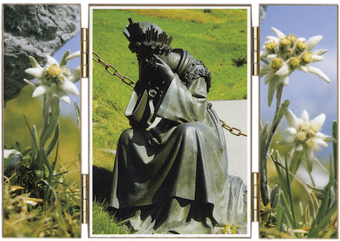 Statue de Notre-Dame Salette