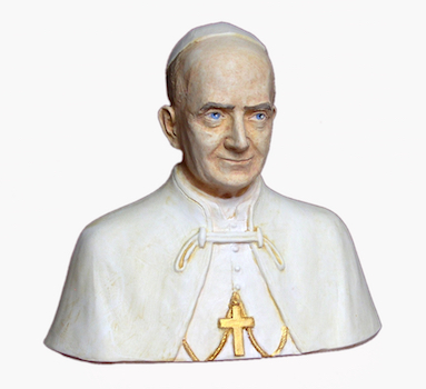Buste de saint Paul VI