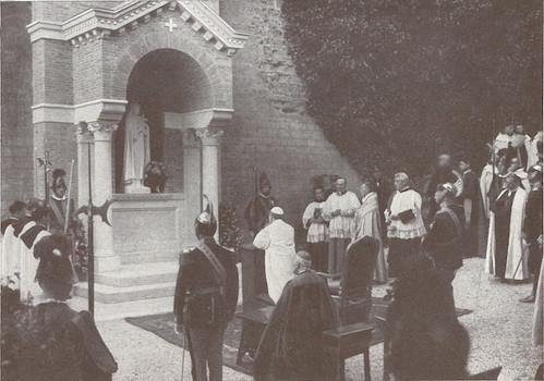 Ste Thérèse protectrice des Jardins du Vatican