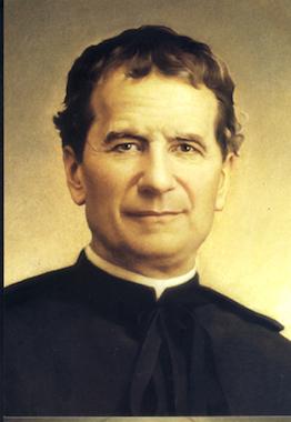 Portrait de saint Jean Bosco