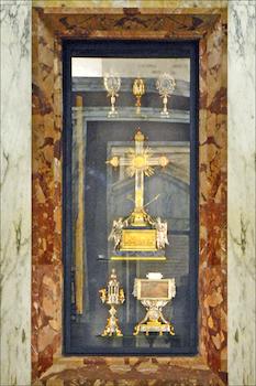 Relique de la croix du Bon Larron