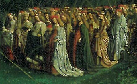 Groupe des Vierges martyres