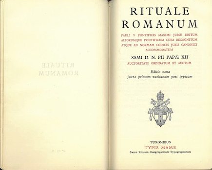Rituel romain de Paul V