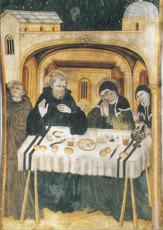 Saint Benoit et sainte Scholastique