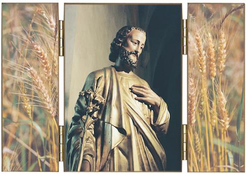 saint Joseph au Lys, Patron de la bonne mort